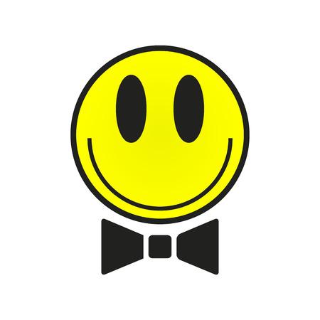 carita feliz caricatura: Ilustración Smiley Face.vector.
