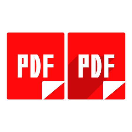 pdf: pdf icon.vector illustration. Illustration