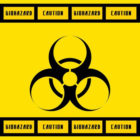 riesgo biologico: ilustraci�n sign.vector de riesgo biol�gico. Vectores