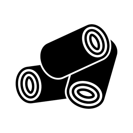 Wood Pellets icon.vector illustration. 版權商用圖片 - 49753435