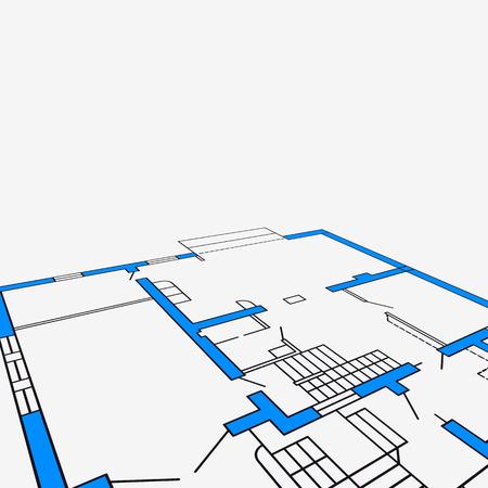 architecture: architecture background.vector illustration.