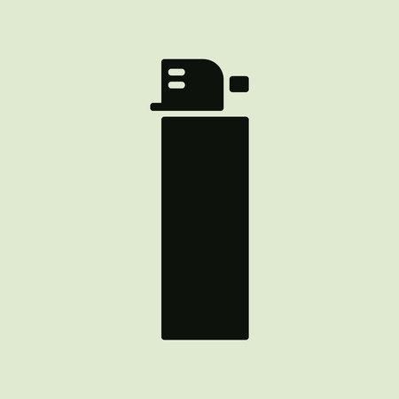 flint: lighter icon.vector illustration. Illustration