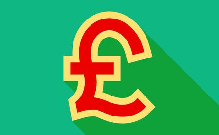 pound: Pound sign.vector illustration.
