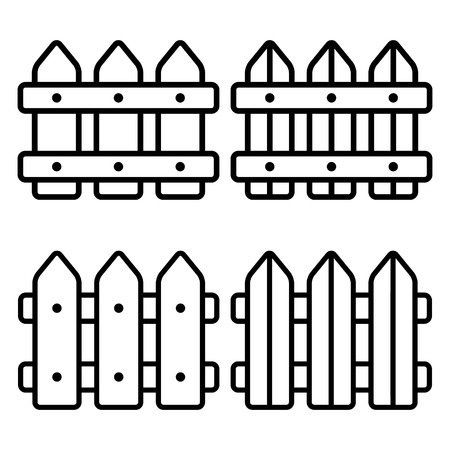 fence icon.vector illustration.