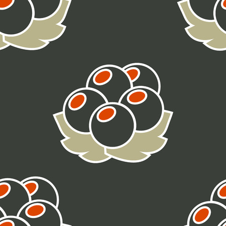currant seamless pattern.vector illustration. Illustration