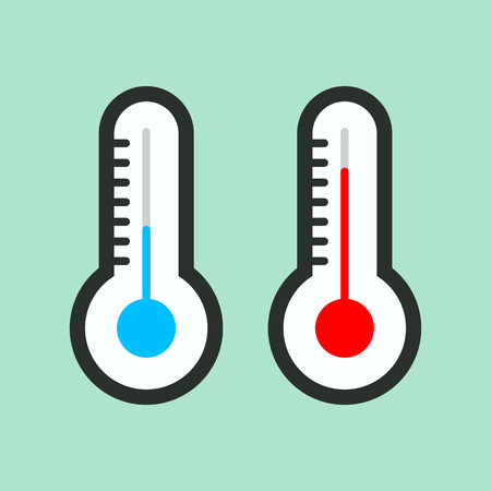 thermometer icon.vector illustration.