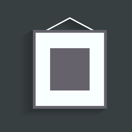 empty frame icon.vector illustration. Illustration