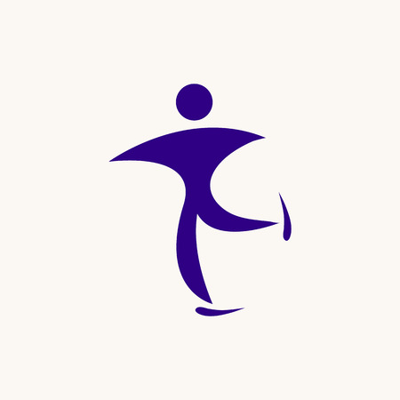 figure skating icon.