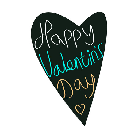 happy valentines day. Stock Vector - 50662259