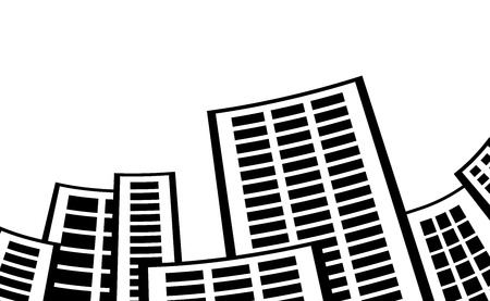 city buildings.vector illustration. Illustration
