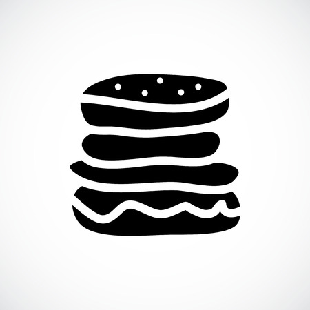 hamburger icon.vector illustration.