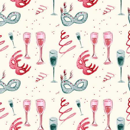 seamless pattern celebration Stok Fotoğraf
