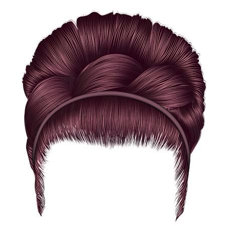 caoba: Icono de estilo de pelo Babette.