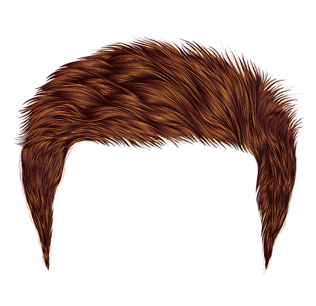 トレンディな男赤毛スタイル