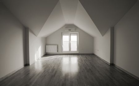 Loft space, new flat in a new building. Stock Photo - 6627329