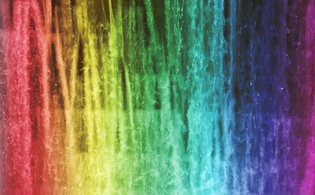 spectra: Colors of waterfalls rainbow True water not realistic colors good for background or something similar.