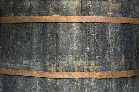 wood barrel: Pattern of an old barrel texture.