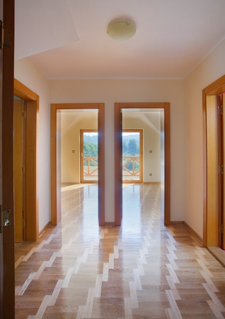 Entrance of a new flat. Apartments for sale. photo