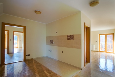 Entrance of a new flat. Apartments for sale. Stock Photo - 8551782