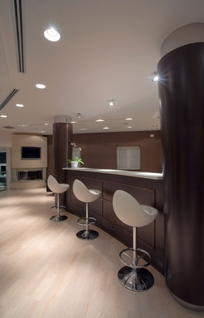 Modern house interior, large and expensive house architecture. Stock Photo - 8582899