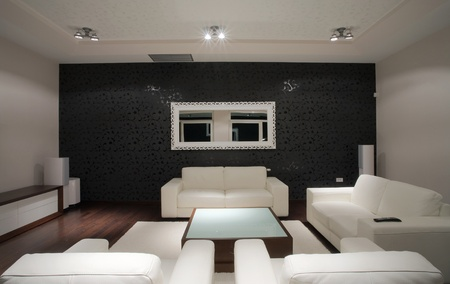 Modern house interior, large and expensive house architecture. Stock Photo - 8582870