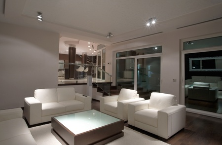 Modern house interior, large and expensive house architecture. Stock Photo - 8582892
