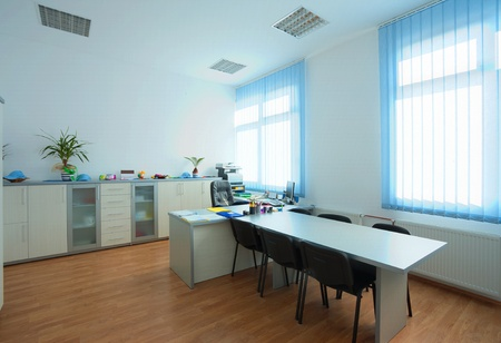 Interior of an office, simple modern design. Stock Photo - 11104959
