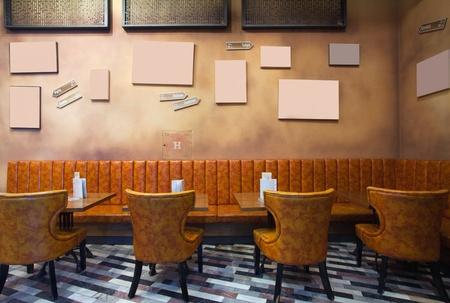 night club interior: Cafe interior