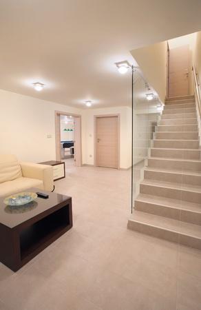 內部的大房子,地下室休息和娛樂。