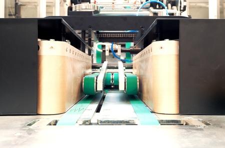 techniek: Het invoeren van een verpakkingsmachine als concept.