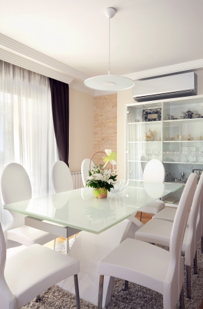 Inter of a modern dining room.  Stock Photo - 15155308