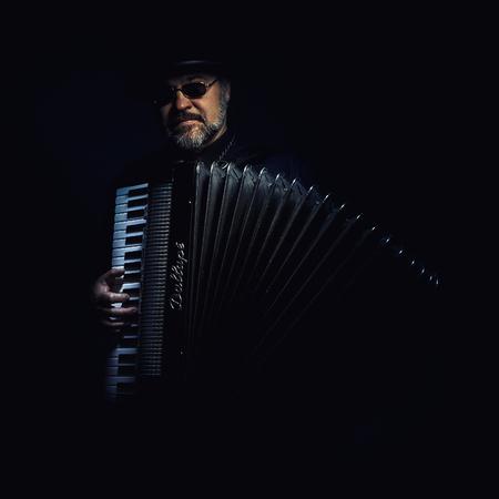 Cacak, Serbia - March 23, 2016: Famous Italian accordion Mariano Dallape & Figlio, model Supermaestro, year of production 1964.