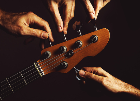 details: Conceptual composition about being in tune on five strings bass.
