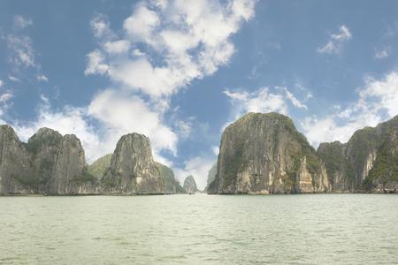 halong: Halong Bay Vietnam.