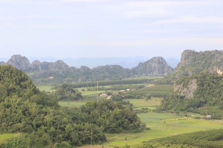 attractions: Landscape,attractions in Thailand.