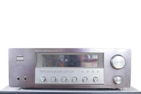 tuner: Vintage amplifier tuner.