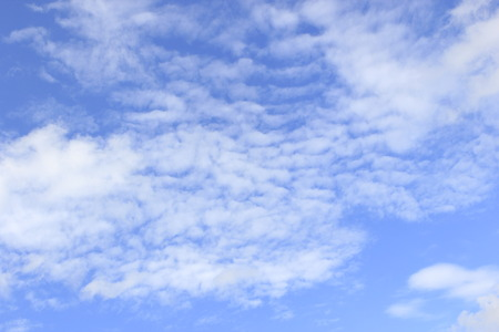 could: Beautiful could and blue sky. Stock Photo