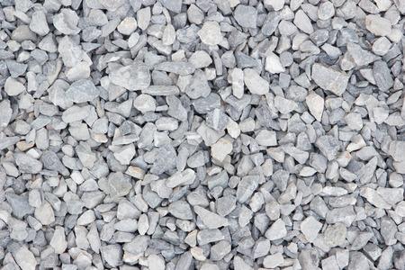 macadam: Granite gravel texture,Construction materials. Stock Photo
