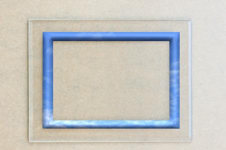 plexiglas: Glass framework.