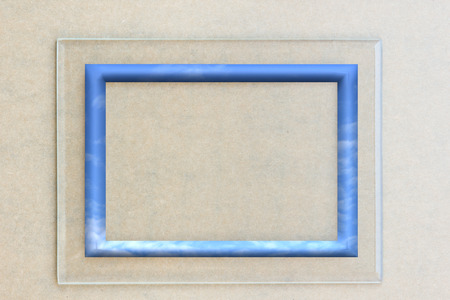 framework: Glass framework.