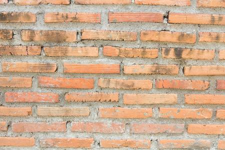 vintage look: background of brick wall with vintage look.