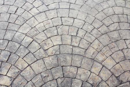 cobblestone: Cobblestone pavement. Stock Photo