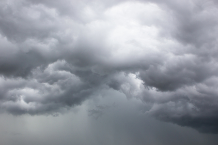 thunderstorm: Background of storm clouds before a thunder-storm.