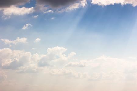 bluesky: Wonderful blue-sky background. Stock Photo