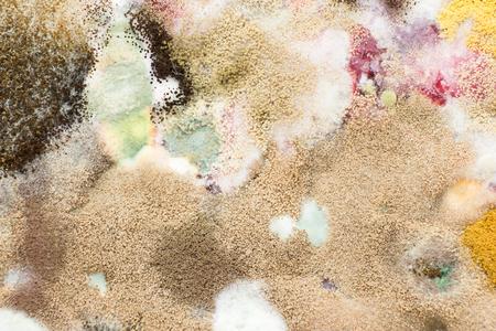 Moldy from juice Stock Photo