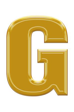 alphabetic: Golden alphabetic fonts.G.