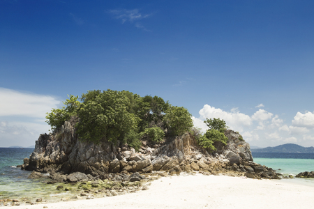 Wonderful Island and Blue Paradise, Khai Island ,Thailand.Tour Business Concept. Stock Photo