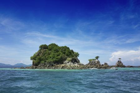 wonderful thailand: Wonderful Island and Blue Paradise, Khai Island ,Thailand.Tour Business Concept. Stock Photo