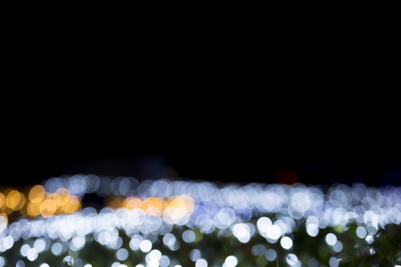 Abstract ball lights view background. Light blur background. Stok Fotoğraf
