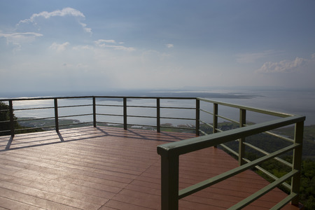 Wonderful of  Hin Chang Si View Point , Khonkaen , Thailand. Landscape  Background Concept.